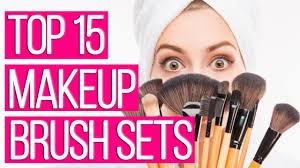 15 best makeup brush sets 2018