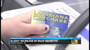Most La Families To See Slight Increase In Snap Benefits
