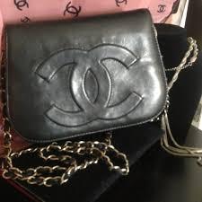 chanel vintage bag. chanel accessories - vintage chanel double sided flap shoulder bag