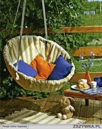 easy diy furniture ideas. 14. A Little Creative Thinking And Strong Ropes Can Give You An Amazing Swinging Chair. 22 Easy Fun DIY Outdoor Furniture Ideas Diy C