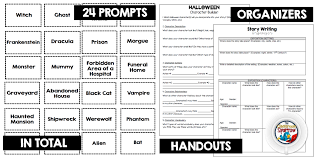 halloween ideas resources for your english language arts class  visuals are another way that halloween can be incorporated into your daily writing routine this type of writing gives students the opportunity to focus on