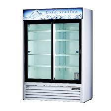 beverages beverage cooler glass doors
