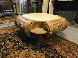vintage italian gilded coffee table