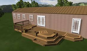 mobile home deck designs. stunning design mobile home deck designs on ideas m