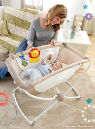 It's the perfect, portable place for baby! At night, the bassinet ...