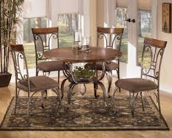casual dining room ideas round table. Plentywood 5-Piece Round Dining Table Set By Signature Design Ashley Casual Room Ideas O
