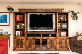 Amazing Rustic Entertainment Center  Centers For Flat Screen8