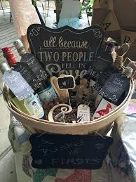 bride gift basket wedding gift baskets for bride and groom interesting a basket of firsts or