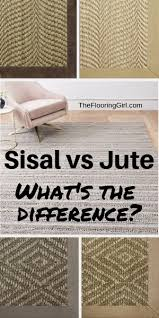 sisal and jute area rugs what s the difference