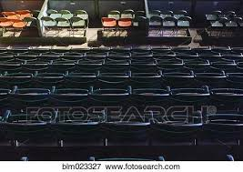 Fort Worth Stockyards Rodeo Seating Chart Fort Worth Stockyards Coliseum Seating Stock Photo