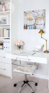 vallone design elegant office. chic workspace white and gold vallone design elegant office