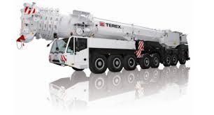 Demag 600 Ton Crane Load Chart Ac 500 2 Terrain Crane Cranes Forklift Lifting Machines