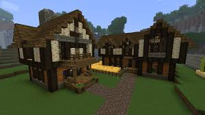 Small Picture Medieval Minecraft House Designs Cozy Medieval House and Inn