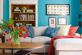 Teal Blue Living Room Decorate Behind The Sofa Diy Network Blog Made Remade Diy