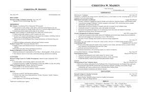One Page Resume Techtrontechnologies Com