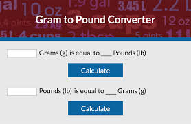 Conversion Chart Lbs To Grams Convert Grams To Pounds Lovetoknow