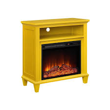 furniture tv stand with electric fireplace awesome corner yellow minimalist laminated wooden tv stand in