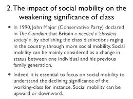 marie langlais social class decline essay plansocial class decline es  11