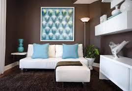 Brown And Turquoise Living Room Cool Hd9a12