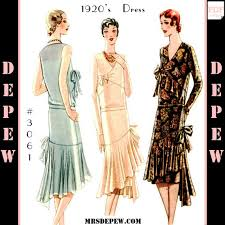 1920s Dress Patterns Extraordinary 48s Patterns Vintage Reproduction Sewing Patterns