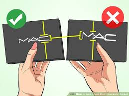image led spot a fake mac cosmetics step 1