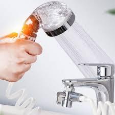 shower filter faucet extender sprinkler