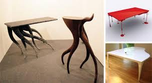 odd furniture pieces. 16 marvelous modern table designs odd furniture pieces
