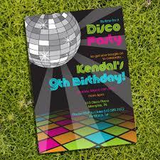 Childrens Disco Invitations Childrens Disco Invitations Major Magdalene Project Org