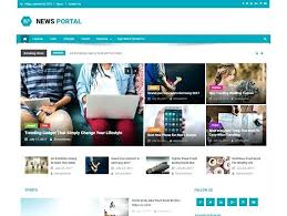Newspaper Website Template Free Download Best Fashion Blog Magazine Themes Flex Mag Beautiful