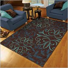 full size of blue and brown area rug contemporary rugs chocolate orange l thegreenstation us dark
