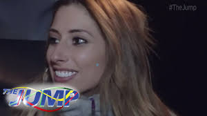 After the show he had a day in england because of his flights so i invited him over for dinner. Stacey Solomon Wants To Kiss Steve O The Jump On The Piste Youtube
