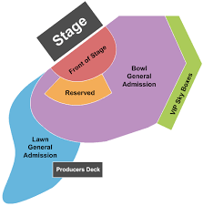 Artpark Amphitheater Seating Chart Thievery Corporation Tickets At Artpark Amphitheatre Tue