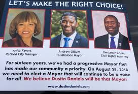 Mayoral Candidate Dustin Daniels Gets Backing from Prominent  African-American Leaders – Tallahassee Reports