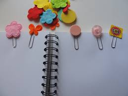 Flower Paper Clips Paper Clip Bookmark My Kid Craft