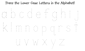 Alphabet Tracing Worksheets Cursive A Z Pdf Letter For Kindergarten ...