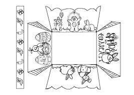 Free Craft Printables Templates Easter Crafts Printable Templates Easter Basket Template