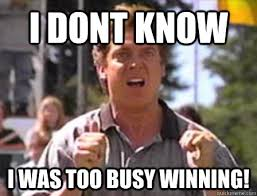 I DONT KNOW I WAS TOO BUSY WINNING! - Angry Shooter Mcgavin ... via Relatably.com