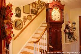 entry with grandfather clock