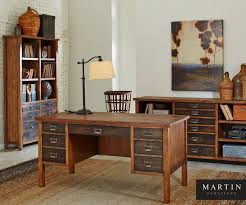 simple home office furniture oak. complete your home office with this beautiful rustic hickory oak collection the chatter marks simple furniture w