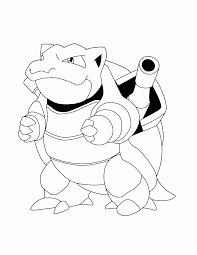 Small Picture Coloring Download Blastoise Page Mega And itgodme