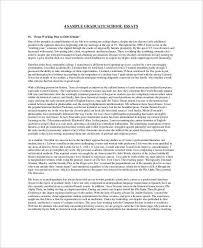 student essay samples graduate student