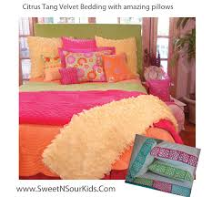 Pink And Orange Bedroom Orange Sweet And Sour Kids Blog