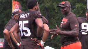 Bruce Smith says Myles Garrett can be an impact player as a rookie for the  Browns - YouTube