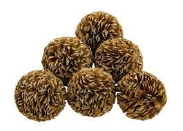 Natural Decorative Balls Natural Decorative Balls Set of 60 Home Decor Mor Furniture 2