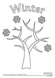 Small Picture Tree Colouring Pages
