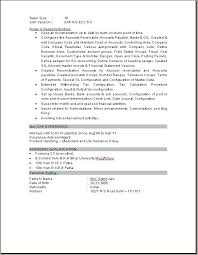 Sap Fico Resume Sample Bi For Years Experience Fresh Resumes