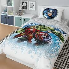 Комплект <b>постельного белья Marvel</b> Avengers On guard 3 пр нав ...