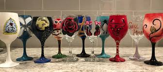 wine glass painting class vip paints chicago 18 may