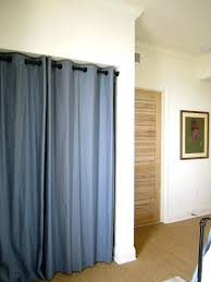 this is the idea going for on my bedroom closet door curtain ideas bedrooms simple curtains for closet