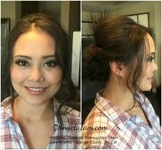 south pasadena makeup artist and hair stylist angela tam event nadia makeup hair session